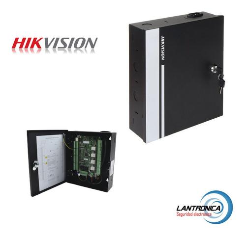 Imagen 1 de 10 de Control De Acceso 4 Puertas Hikvision Ds K2804 Rfid Tarjeta