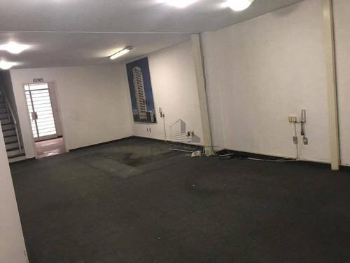 Salão Para Venda Em Campinas, Na Avenida Francisco Glicério Com 600 Metros. - Sl0815