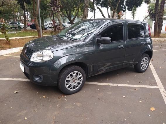 Fiat Uno Vivace Celebration 1.0 2014/2014 Cinza Ja Uber/99