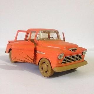 Miniatura Carro Chevy Stepside Pick-up (1955) - Escala 1:32
