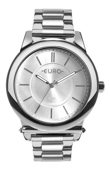 Relógio Feminino Euro Prata Eu2036ymt/3k