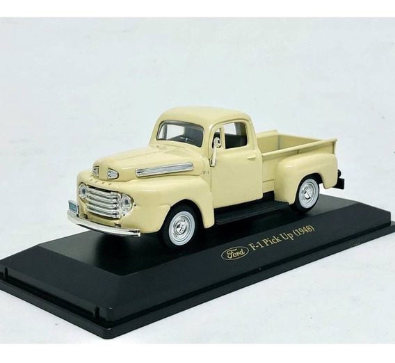 Miniatura Picape Ford F-1 1948 Creme 1:43 Yat Ming 94212