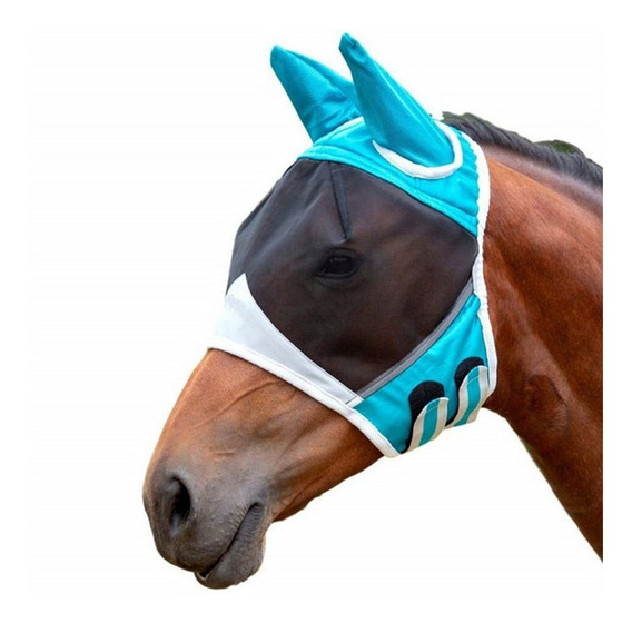 Máscara Facial De Cavalo 00080 Respirável Cavalo Máscara Fac