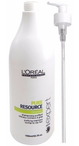 Loreal Profesional Shampoo Neutro Pure Resource X1500 Graso