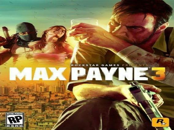 Max Payne 3 Xbox 360 Midia Digital