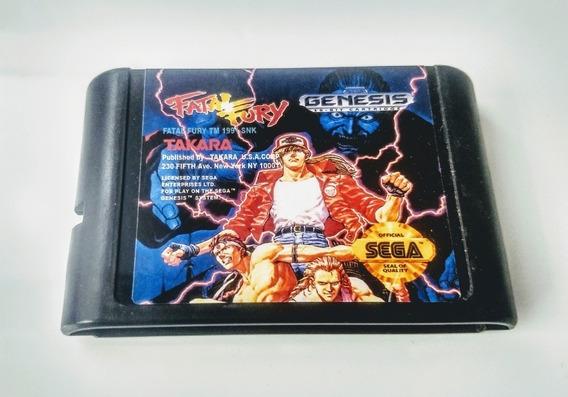 Fatal Fury - Mega Drive Sega - Ótimo Estado 12 X Sem Juros