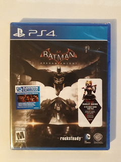 Batman Arkham Knight Juego Ps4 Nuevo Y Sellado En Español