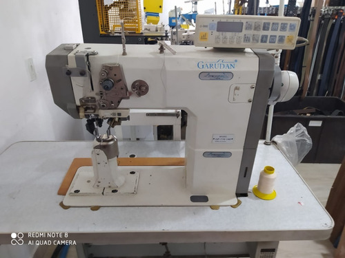 Máquina De Costura Garudan Eletrônica Gp-710-148 Tr. Triplo