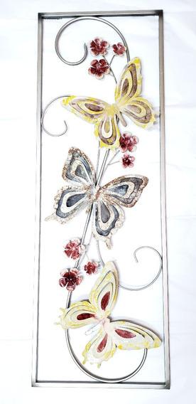 Cuadro Panel Mural Moderno Deco Home Mariposas 101.051033