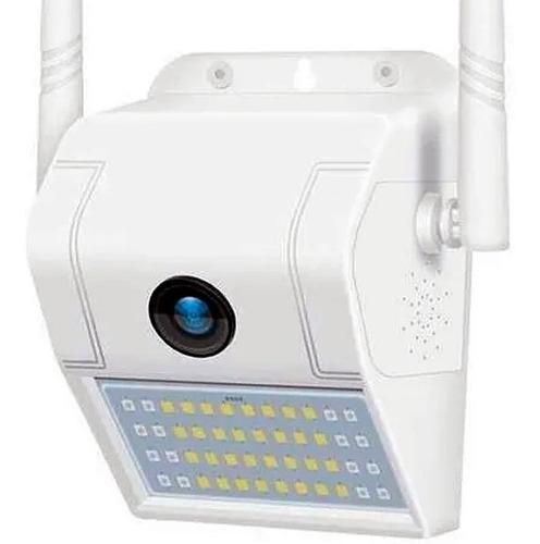 Reflector Camara Ip Wifi Exterior 180° Movimiento Alarma P2p