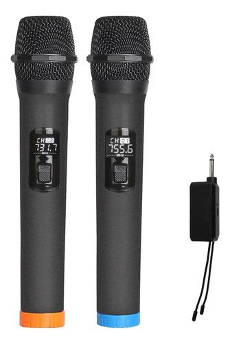 Microfone Sem Fio Sem Bluetooth, Vhf De Mão Dupla Sem Fio