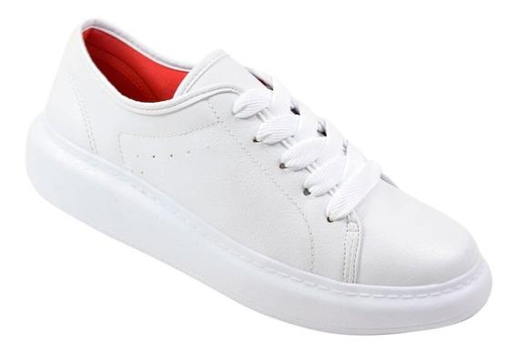Tênis Dijean Preto/branco Feminino Calçado Crocs Inverno