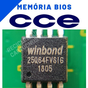 Memoria Flash Tv Cce Ln244w Chip Gravado Original
