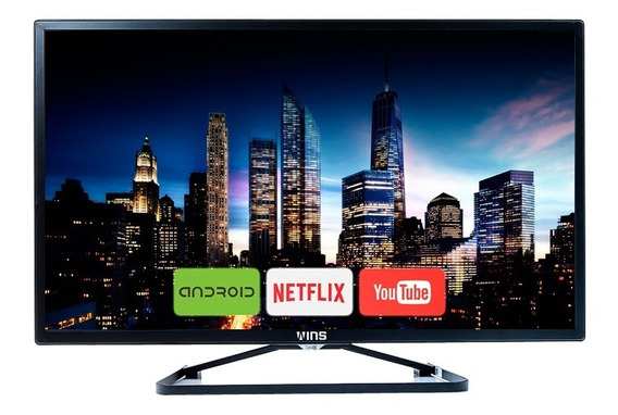Smart Tv Wins 55(4k U H D ) Smt5501 Android ( Netflix)