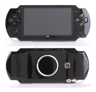 Consola Portatil Psp X6 Juegos Musica Camara Games Pantalla
