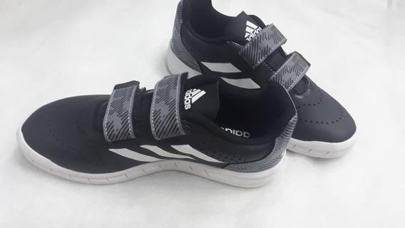 Tênis adidas Infantil Quicksport Velcro - Ref 68509 Promoção