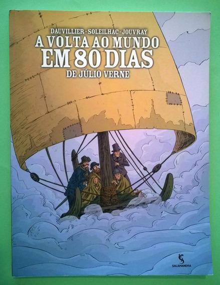 Livro - A Volta Ao Mundo Em 80 Dias (hq) - Júlio Verne