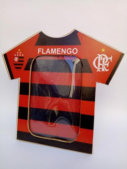 Porta Retrato Camisa Do Flamengo
