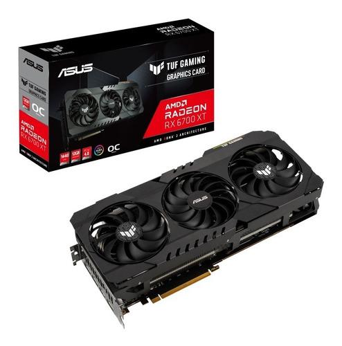 Placa De Video Asus Tuf Gaming Rx 6700 Xt 12gb Gddr6