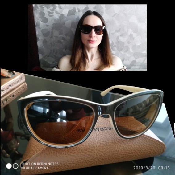 Oculos Polarizado De Sol Feminino Cat Eye Original Promoção