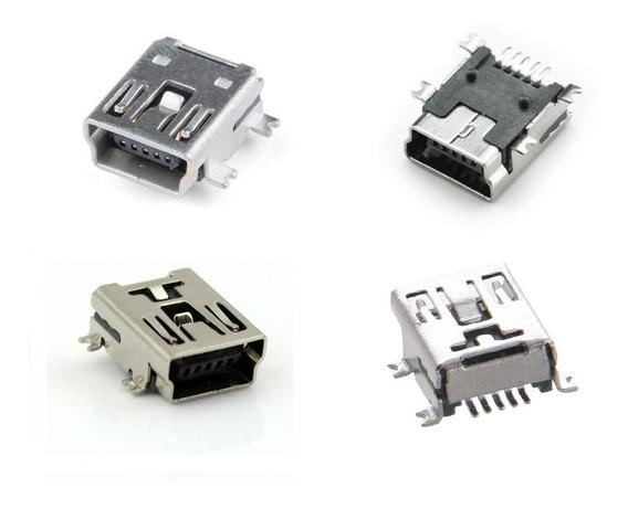 Dc Jack V3 Mini Usb Smd Fêmea P/ Tablets Gps Controle De Ps3
