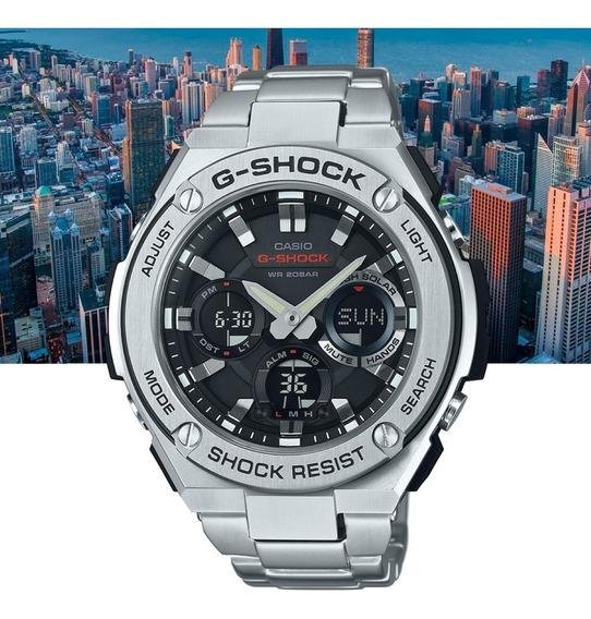 Relógio Casio G-shock G-steel Gst-s110d-1adr Prata