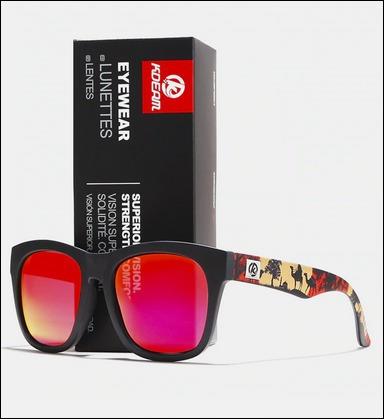 Óculos De Sol Unissex Polarizado Com Proteção Uv