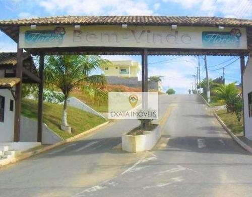 Imagem 1 de 7 de Terreno Condomínio Parque Das Flores, Maria Turri, Rio Das Ostras. - Te0094
