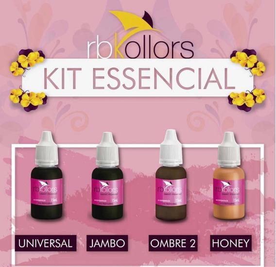 Kit Essencial Rbkollors Ombre 2 + Universal + Honey + Jambo