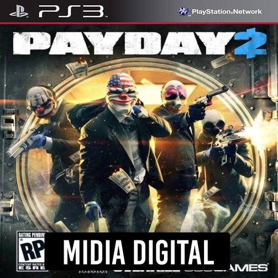Ps3 - Payday 2 Pay Day 2
