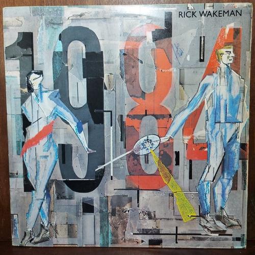 Vinil Lp Rick Wakeman 1984 Com Encarte.
