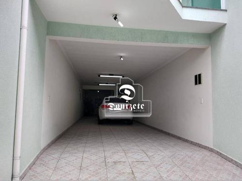 Sobrado Com 3 Dormitórios À Venda, 220 M² Por R$ 636.000,00 - Parque Das Nações - Santo André/sp - So3629