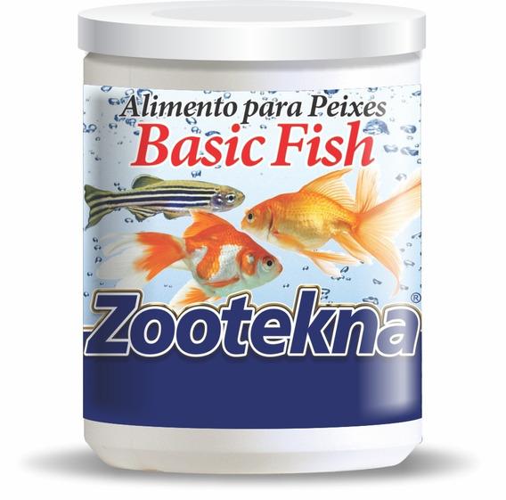 Alimento Premium Floculado Para Peixes Basic Fish - 10 G