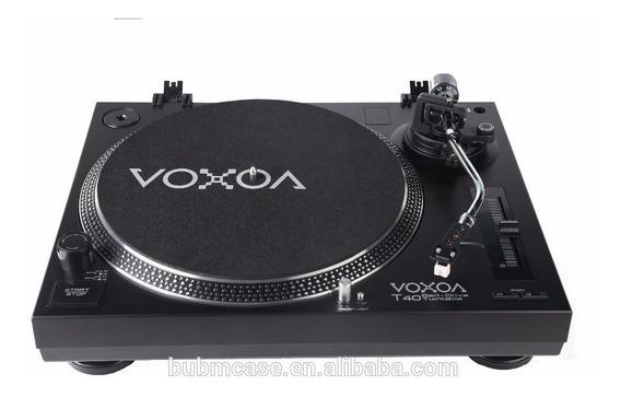 Toca Disco Voxoa T-40 Usb Phono