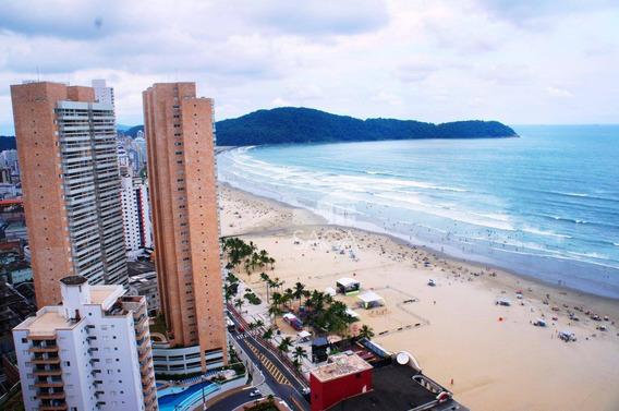 Apartamento Com 4 Dormitórios, Varanda Gourmet, Vista Mar À Venda, 156 M² Por R$ 1.090.000 - Vila Guilhermina - Praia Grande/sp - Ap2647
