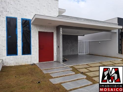 Imagem 1 de 30 de Casa Térrea, Nova No Condomínio Reserva Ermida - 23230 - 69503494