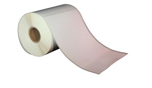 Etiquetas Autodhesivas Termica 150x100 Mm Rollo Blancas