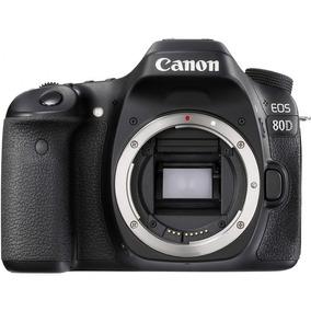 Corpo Câmera Dslr Aps-c Canon Eos 80d Garantia Nfe