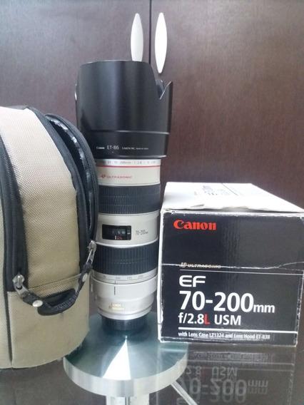 Lente Canon Ef 70-200mm F/2.8l Usm