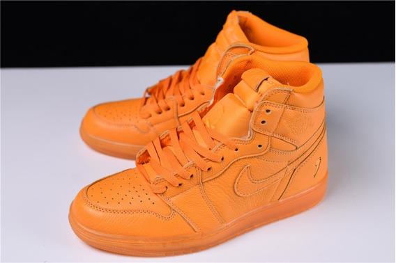 Tênis Nike Air Jordan 1 Retro Gatorade Laranja Original