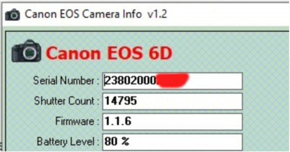 Câmera Canon 6d Wg - Wifi (corpo)