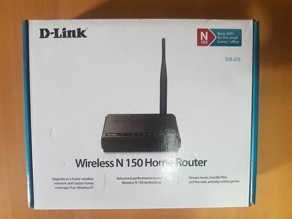Router D-link Dir-610 Inalámbrico N150