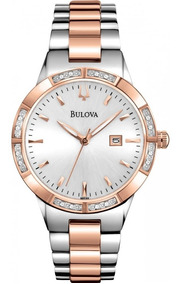Relógio Bulova Ladies Diamond 98r169