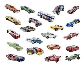 Caixa Fechada Com 72 Carrinhos Hot Wheels Sortidos Mattel