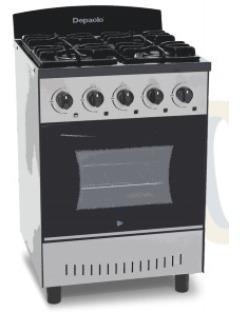 Cocina De Cuatro Hornallas Mini Visor Depaolo - Oferta !