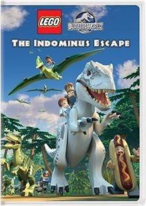 Dvd Lego Jurassic World: The Indominus Escape