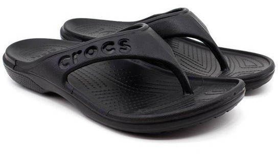 Chinelo Crocs Flip Baya Black