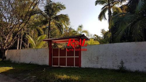 Chácara Com 4 Dormitórios À Venda, 1900 M² - Estãncia Rio Negro - Itanhaém/sp - Ch0011
