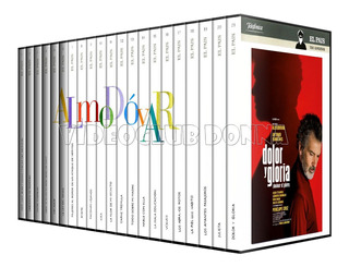 Coleccion Pedro Almodovar 21 Dvds Pack Peliculas Films