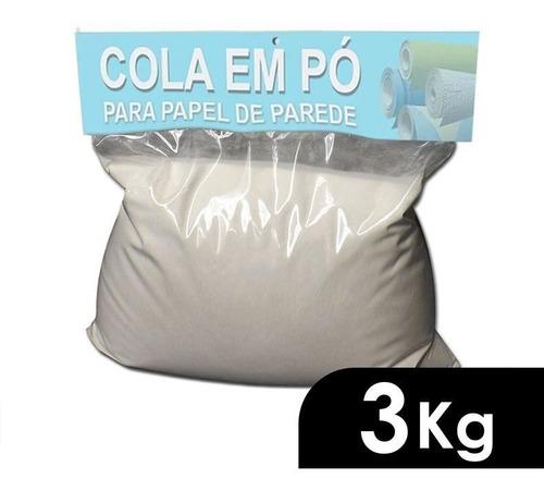 Imagem 1 de 3 de Cola Para Aplicação De Papel De Parede Em Pó - 3kg